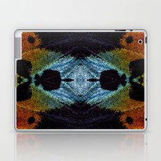 Mirrored Madagascan Sunset Moth Iridescence  Laptop & iPad Skin