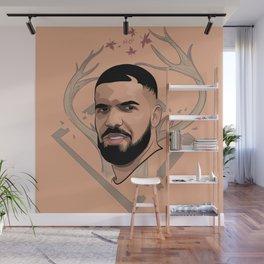 Drake Wall Mural