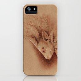 Leaf Man iPhone Case