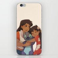 ohana iPhone & iPod Skins featuring Ohana by Sunny