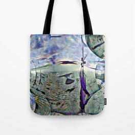 Dramatic overtones, implied, on simple structures. [EDIT] Tote Bag