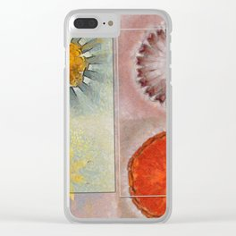 Flagonet Reality Flowers  ID:16165-093245-05721 Clear iPhone Case