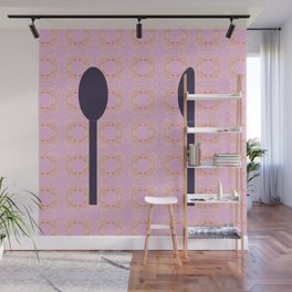 Time To Eat Donuts! Wall Mural