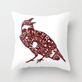 The Jana Design Throw Pillow