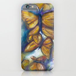 Shaded Wings iPhone Case