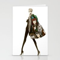 daria Stationery Cards featuring Daria by ginosunscreen