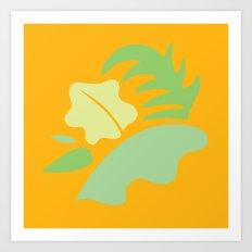 Tropical - Foliage Art Print