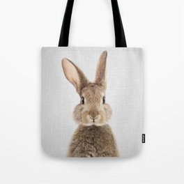 Rabbit - Colorful Tote Bag