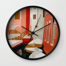 italy venice canale Wall Clock