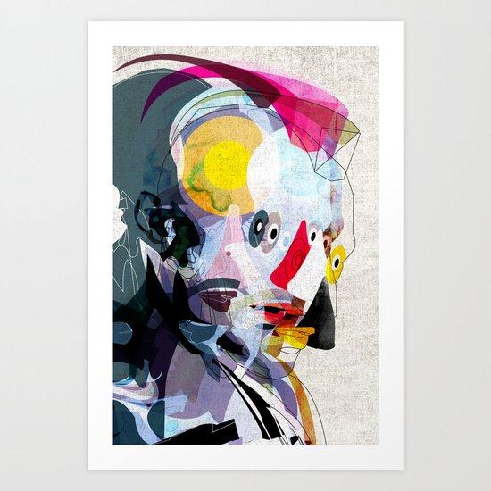 Travis02 Art Print
