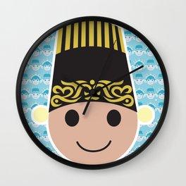 East Java Headdress - Male  Wall Clock