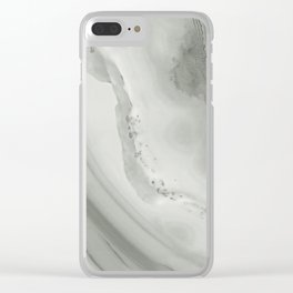 Stone Texture Surface 44 Clear iPhone Case