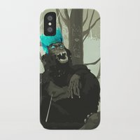 holographic iPhone & iPod Cases featuring Uneasy Lies the Head That Wears the Holographic Crown by Alex Craig