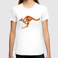 kangaroo T-shirts featuring Kangaroo by Knot Your World