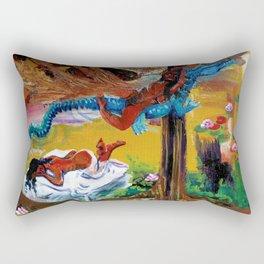 Goddess Never Not Broken Rectangular Pillow