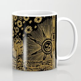 Antique Astronomy Illustration Coffee Mug