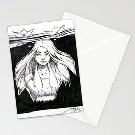 Hide underwater Stationery Cards