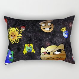 Battle of the Planets Rectangular Pillow