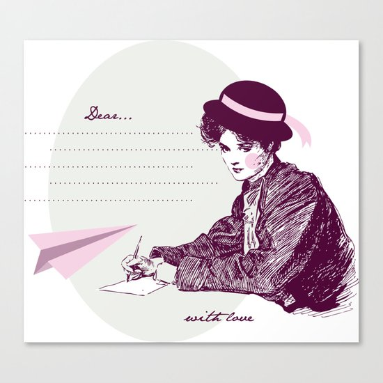 Lady Jane Canvas Print
