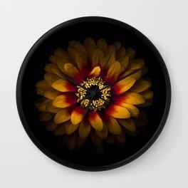 Backyard Flowers 69 Color Version Wall Clock