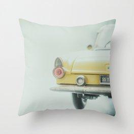 Tiny T-Bird Throw Pillow