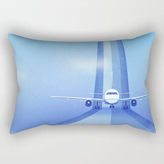 Destination: Dreamland Rectangular Pillow