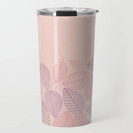 LEAVES ENSEMBLE ROSE Travel Mug