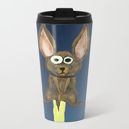 Dog Metal Travel Mug