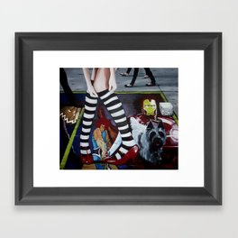 THE WIZARD OF OZ Framed Art Print