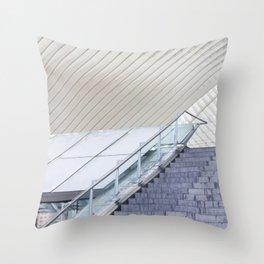 Liege Guillemins  Throw Pillow