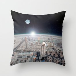 Tranquility Base Hotel & Casino Throw Pillow