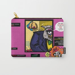 Bird of Steel Comix - Page #4 of 8 (Society 6 POP-ART COLLECTION SERIES)  Carry-All Pouch