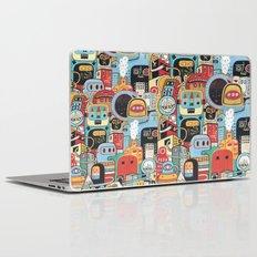 Two monkeys in town Laptop & iPad Skin