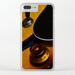 Where The Tone Begins Clear iPhone Case