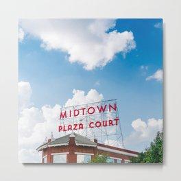 Midtown OKC Metal Print