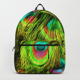 Peacock or Flower 3 Backpack