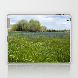 Field of Camas and Dandelions, No. 1 Laptop & iPad Skin