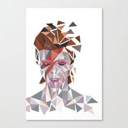 Bowie Stardust Canvas Print