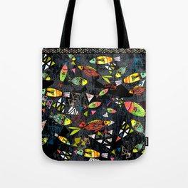 Tribal Fish Tote Bag