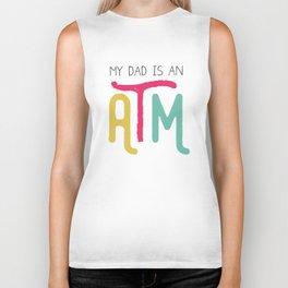 Daddy ATM Hilarious Biker Tank