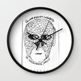 Quiero ser un lagarto | I wanna be a lizzard Wall Clock