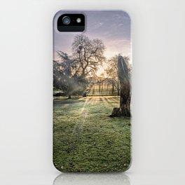 Morning Sun At Leeds iPhone Case