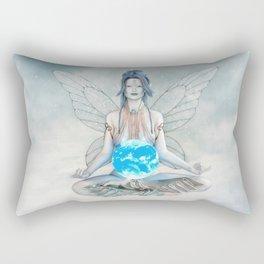 Air Elemental Fairy Rectangular Pillow