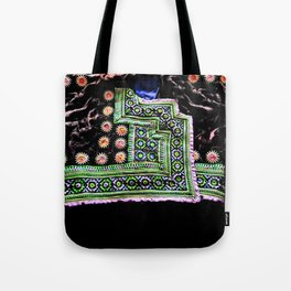 Hmong men shirt Tote Bag