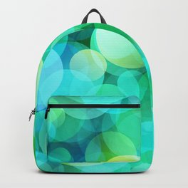 Green Bubble Backpack
