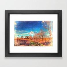 Hunworth to Holt Framed Art Print