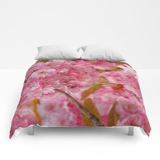 Cherry blossom #4 Comforters