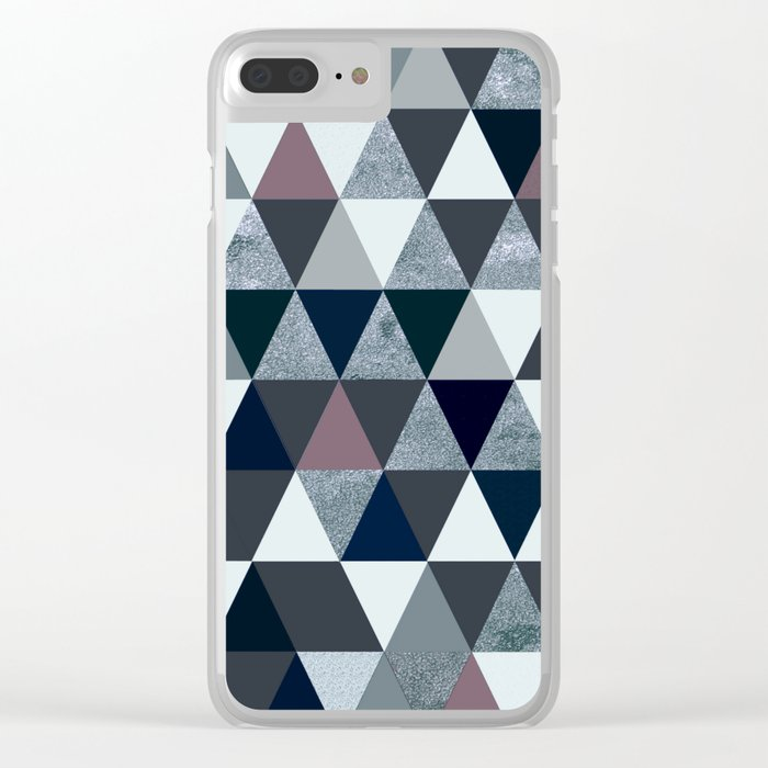 Abstract #386 Clear iPhone Case