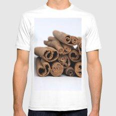 Cinnamon Spice - Kitchen Still Life Mens Fitted Tee White MEDIUM