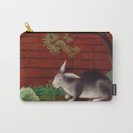 Henri Rousseau - The Rabbit's Meal Carry-All Pouch